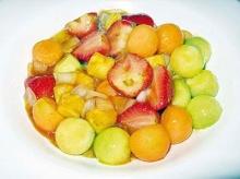 ผัดเปรี้ยวหวานผลไม้สด