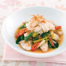 แกงปลากระชายสด