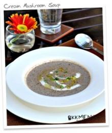 Cream Mushroom Soup (ซุปครีมเห็ด)