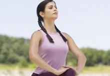 บริหารกล้ามเนื้อด้วยการหายใจ