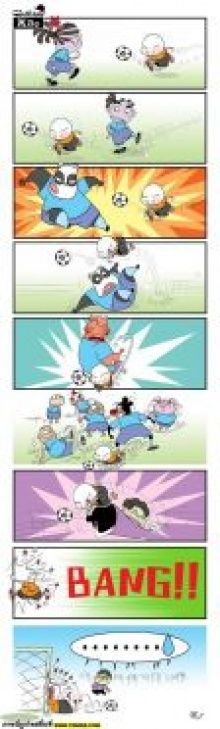 cartoon world cup ตอน พลิ้วซะ