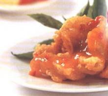 ปลาตะไคร้ซอสพริก