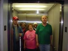 ทำไมเวลาขึ้นลิฟต์เราจึงรู้สึกเสียวบริเวณช่องท้อง?