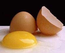 เปลือกไข่ช่วยให้ผ้าขาว