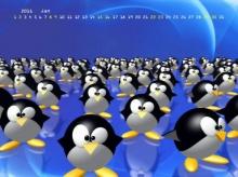 ปฎิทิน wallpaper 2011 ลาย น้องเพนกวิน น่ารักจ้า!!