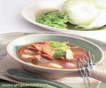 ต้มโคล้งปลาแมคเคอเรลในซอสมะเขือเทศ