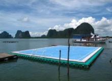 ฮือฮา สื่อตปท.ยกสนามฟุตบอลลอยน้ำเกาะปันหยี เป็นหนึ่งในฉากสวยงามที่สุดของโลก