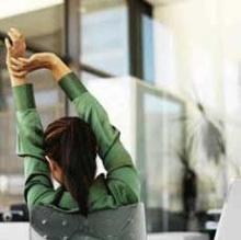 5 วิธีง่ายๆ ออกกำลังกายในที่ทำงาน