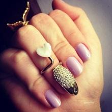 แฟชั่นแหวนใส่เล็บ Mani Ring
