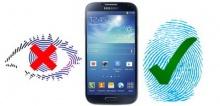 ฮือฮา Samsung Galaxy S5 แค่สัมผัสหน้าจอก็สแกนนิ้วปลดล็อคทันที!