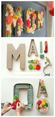 D.I.Y. ของขวัญให้ แม่