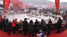 ตะลึง! เทศกาลชาบูหม้อยักษ์ที่จีน
