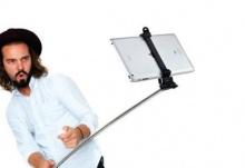 ของเล่นใหม่!!! ไม้ Selfie สำหรับ iPad