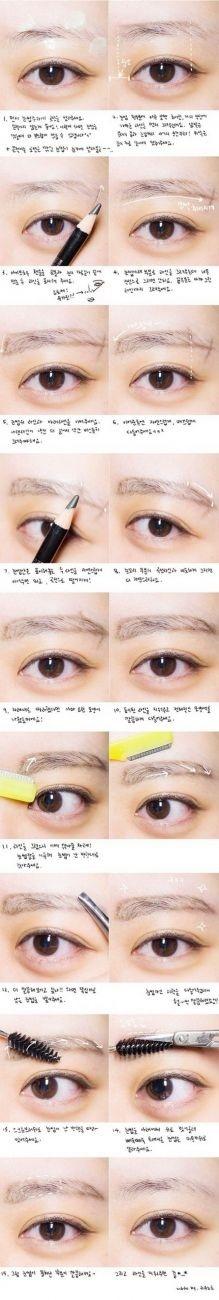 3 เทคนิคเขียนคิ้วให้หน้าเด็กกว่าวัย แถมสวยใสแบบเกาหลี