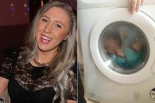 จวกยับสาวจับเด็กใส่เครื่องซักผ้า โพสต์FB ลั่นแค่ถ่ายรูปเล่นๆไม่ได้เสียบปลั๊ก