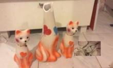 แทบช็อก! ออมเงินแบงค์ใส่กระปุกแมวเซรามิกนาน 3ปี ทุบมาทีใจแทบสลาย!