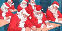 แบบนี้ก็มีด้วย... โรงเรียนสอน ซานต้าคลอส ให้ร้อง โฮ่ โฮ่ โฮ่ อย่างถูกต้อง