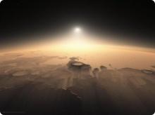 พาชมภาพสวย! ของดวงอาทิตย์ขึ้นที่ดาวอังคาร