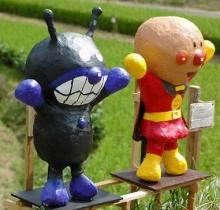 หุ่นไล่กาแบบชาวญี่ปุ่น