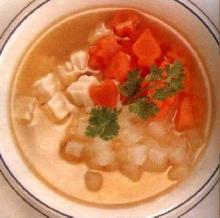 ซุปเต้าหู้-แครอท