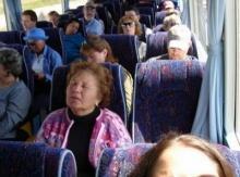 ทำไมนั่งรถเมล์ต้องหลับด้วยเนี่ย ?