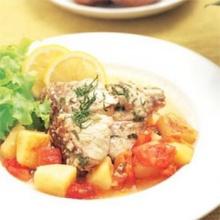 ปลาอบมะนาวเลมอน