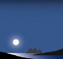 ทำไมพระจันทร์มีผลกับน้ำขึ้นน้ำลง?