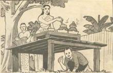 ภาพปริศนา : สำนวนไทย 4