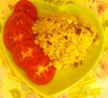 ข้าวผัดไข่เค็ม