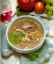 ซุปกระเพราะปลา - ซี่โครงหมู