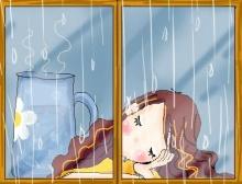 ทำไมฝนจึงตกเป็นเม็ด