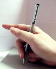 ทายนิสัยจากการจับปากกา