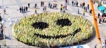 กินเนสบันทึก! รอยยิ้มใหญ่ที่สุดในโลก