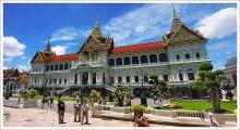 พระบรมมหาราชวัง สถานที่ท่องเที่ยวเชิงประวัติศาสตร์และอนุสาวรีย์แห่งประเทศไทย