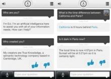 Evi แอพฯ คู่แข่งที่ฉลาดกว่า Siri