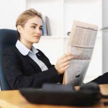 อ่านหนังสือพิมพ์สะท้อนนิสัย
