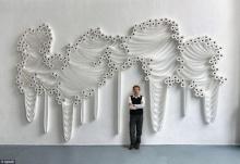ศิลปินสุดเจ๋ง โชว์งานศิลปะกระดาษชำระอย่างสวยงามและสร้างสรรค์