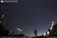 ประมวลภาพปรากฏการณ์ฝนดาวตกเจมินิดส์ (Geminids Meteor Shower) ในวันที่ 13-14 ธันวาคม พ.ศ. 2555