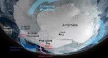 ผลวิจัยชี้ทวีปแอนตาร์กติการ้อนขึ้น-น้ำแข็งละลายเร็วขึ้น
