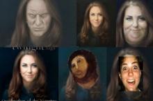 แฟนคลับดัชเชสแห่งเคมบริดจ์ไม่พอใจผลงานภาพเหมือนของจิตรกรมีชื่อ