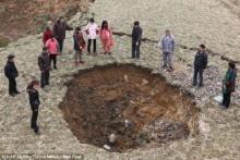 พบหลุมยักษ์กว่า 20 หลุม ชาวบ้าน 4,000 หมู่บ้าน ไม่มีน้ำใช้