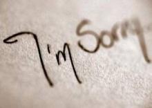 วิธีขอโทษดีๆ
