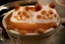 ว้าว!! คอกาแฟห้ามพลาด! ศิลปะจากฟองกาแฟ แบบ 3 มิติ