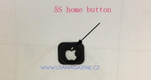ภาพหลุดปุ่ม Home ของ iPhone 5S มีโลโก้แอปเปิลเรืองแสง !!