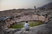 ตะลึง ทะเลสาบเดดซีกลายเป็นหลุมยุบนับพัน หลังแห้งแล้งรุนแรง