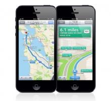 สาวกไอโฟนใช้ Apple Maps เวิร์คกว่า Google Maps