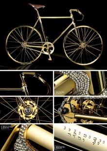 จัดไป...จักรยานเสือภูเขาเคลือบทองประดับสวารอฟสกี้ คันเนี้ย 3 ล้าน