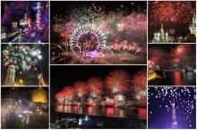 ประมวลภาพทั่วโลกเฉลิมฉลอง ′เคาท์ดาวน์′ ส่งท้ายปีเก่า ต้อนรับปี 2014