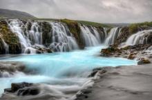 Brúárfoss มหัศจรรย์น้ำตกสีฟ้าแห่งไอซ์แลนด์