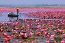 ยกหนองหานทะเลสาบแปลก-สวยที่2ของโลก